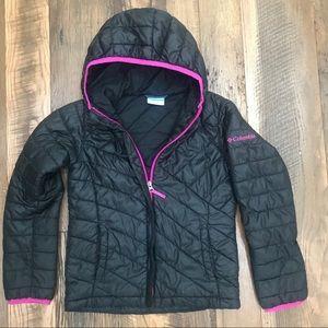 Columbia Winter Coat girl 7-8